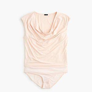 J.Crew 365 Women S Stretch Cowl Bodysuit Pink